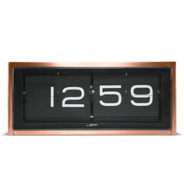LEFF Amsterdam Brick Copper Clock