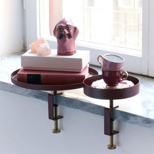 NAVET Sthlm Clamp Tray - Burgundy Small