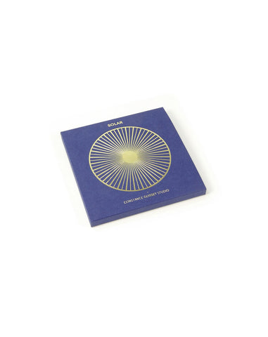 Solar Brooch - Small Gold