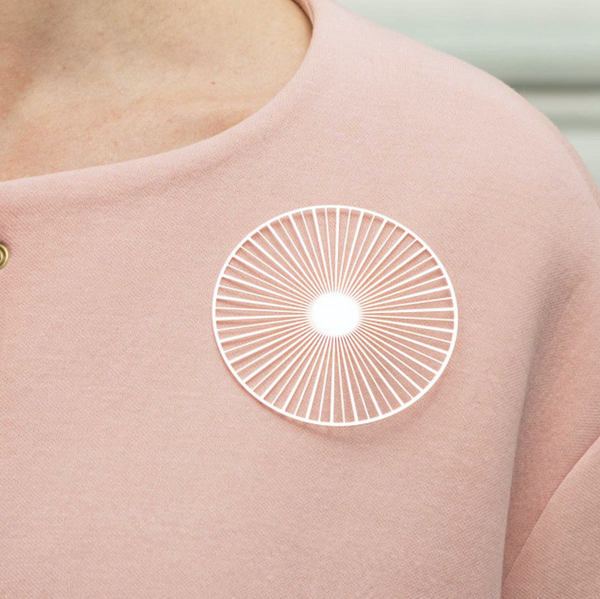 Solar Brooch - Small Rose Gold