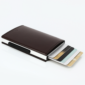 ögon Designs Cascade Wallet - Brown Leather