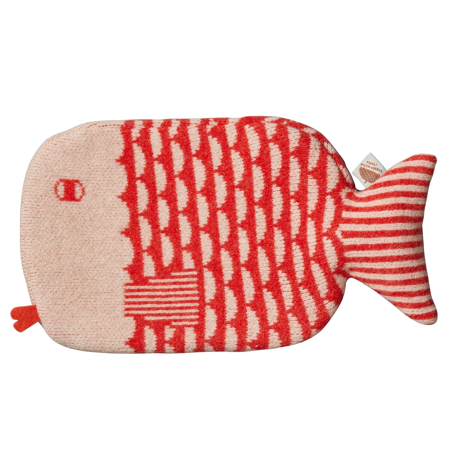 Donna Wilson Hot Water Bottle - Fish Orange