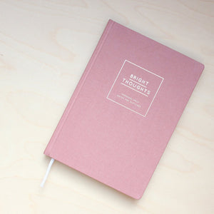 Navucko Bright Thoughts Notebook - Dusty Pink