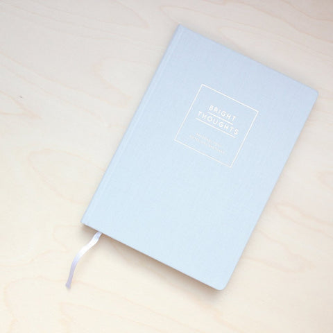 Navucko Bright Thoughts Notebook - Grey