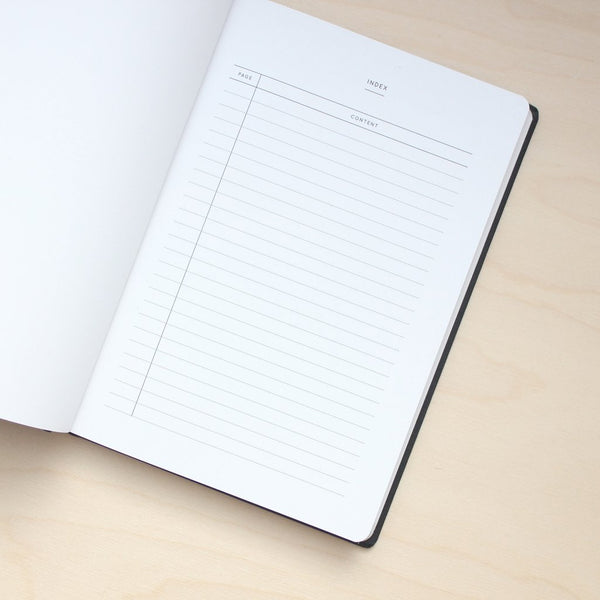 Navucko Bright Thoughts Notebook - Black