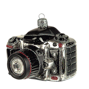Kamera julepynt / Camera christmas ornament