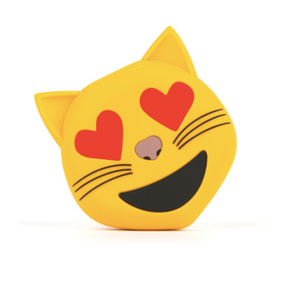 Cat with heart eyes Powerbank! 😻 Cat Love Emoji Powerbank