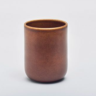 Mette Duedahl LAND Collection - Stor kop - Chestnut / large cup