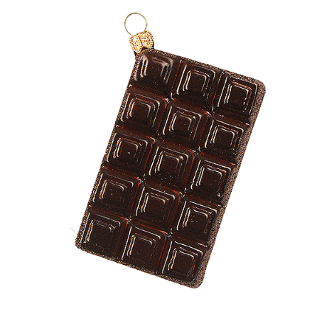 Chokolade julepynt / Bar of Chocolate ornament - Pre-order now!