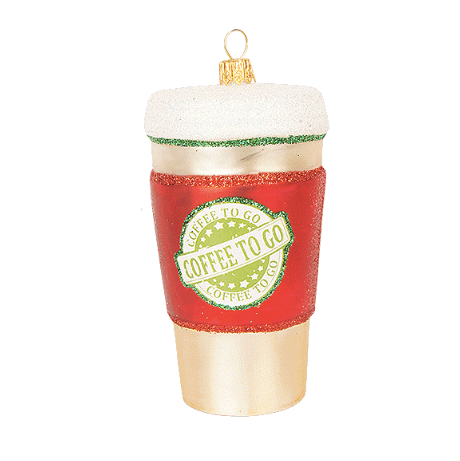 Takeaway Kaffe julepynt / Coffee To Go ornament