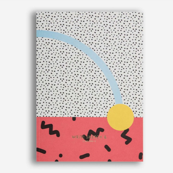 Write Sketch &  - Super Confetti Notebook