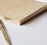 Write Sketch & Gold Coriandoli Notebook