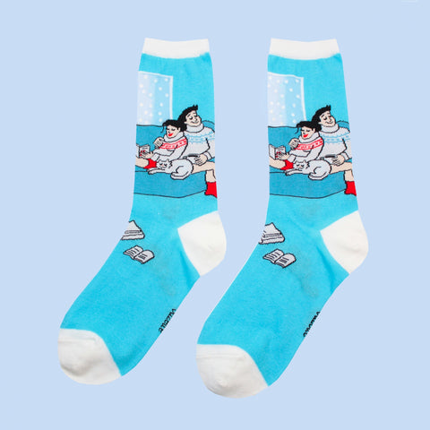 Coucou Suzette Transparent Cosy Socks