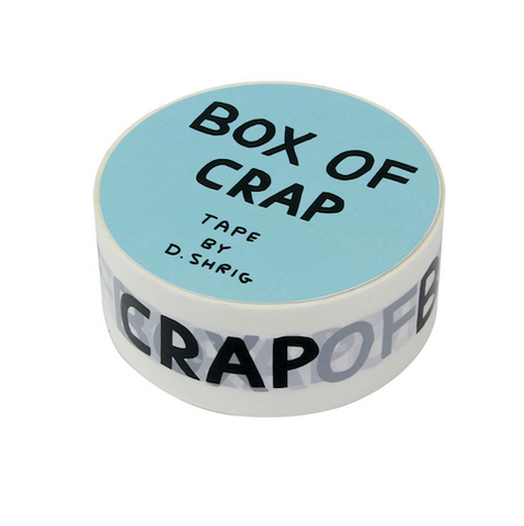 David Shrigley Box Of Crap Tape