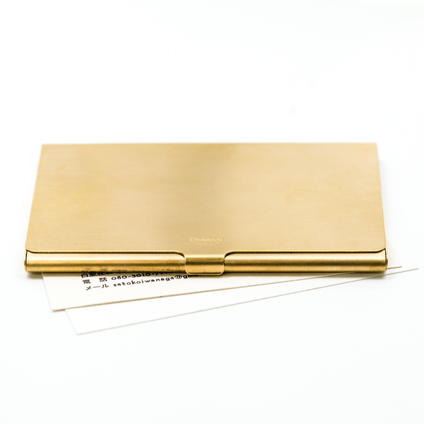Diarge Japan Brass Card Holder
