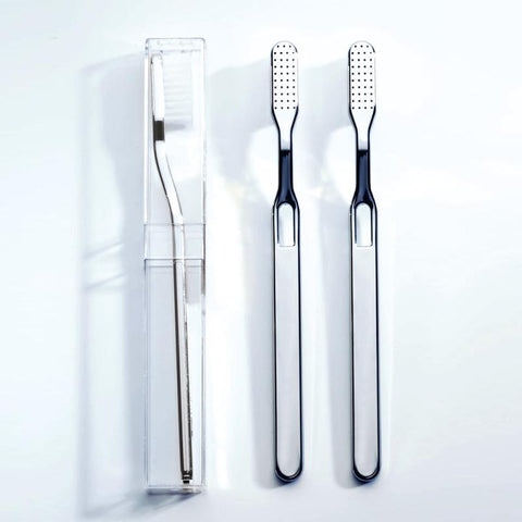 Forkromet tandbørste / Chromed toothbrush