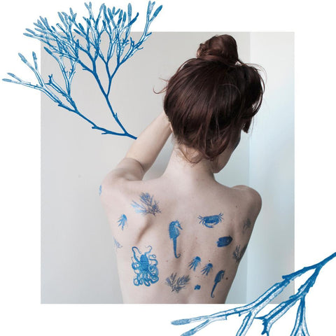 Ephemeral Tattoos - DEEP BLUE SEA
