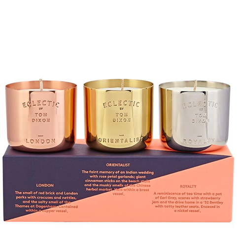 Tom Dixon Eclectic Candle Gift Set