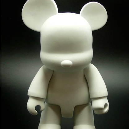 "Toy2r Qee 8"" DIY Bear"