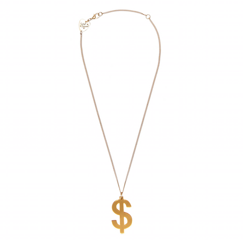 Tatty Devine Dollar sign Necklace