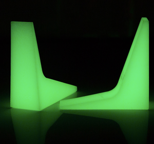 Droog Door Stoppers - Glow in the Dark!