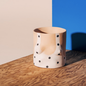 Group Partner - Light Girl Polka Dot Pot