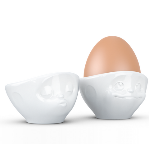 Expression Egg Cups set - Kissing & Dreamy