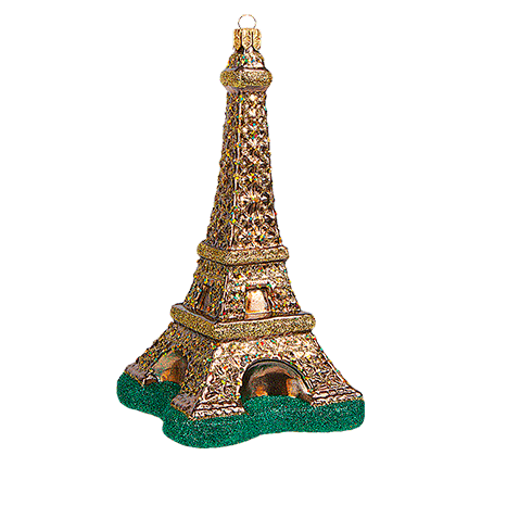Eiffel Tower julepynt / Eiffel Tower christmas ornament