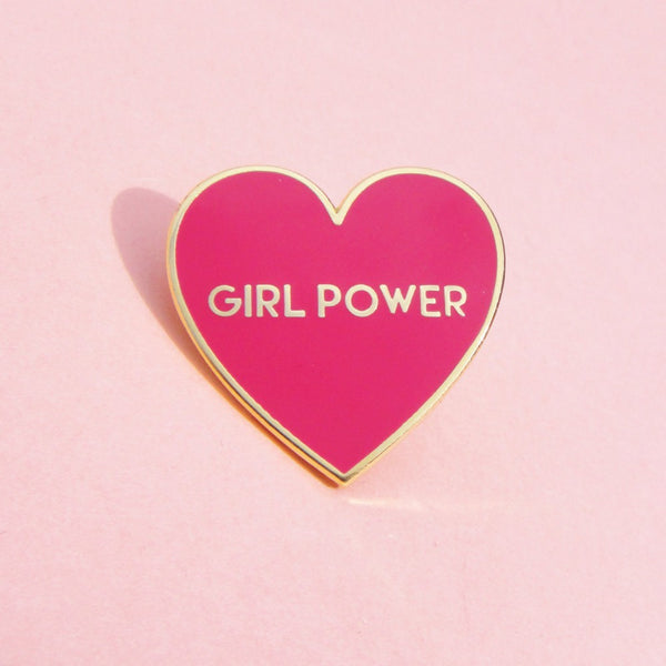Coucou Suzette Girl Power Pin