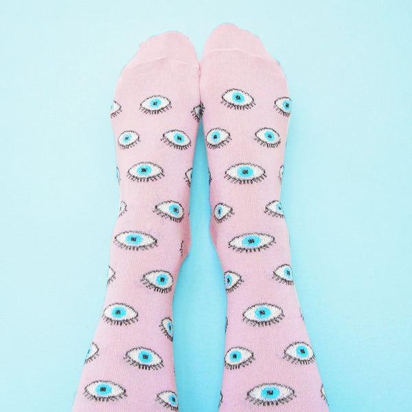 Coucou Suzette - Glittery Eye Socks