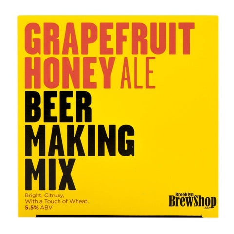 Brooklyn Brewshop - Refill Kit / Grapefruit Honey Ale