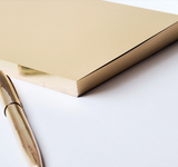 Write Sketch & Gold Lingotto Notebook