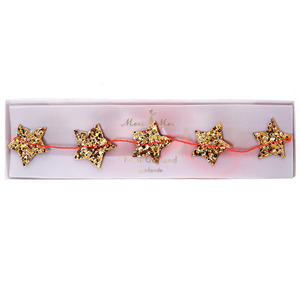 Mini Gold Star Guirlande / Garland - coming soon!