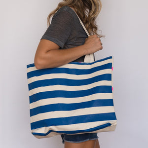 Gold Teeth Brooklyn - Stripes & Dots Tote Bag