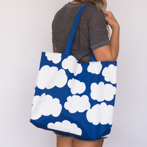 Gold Teeth Brooklyn - Cloud Tote Bag