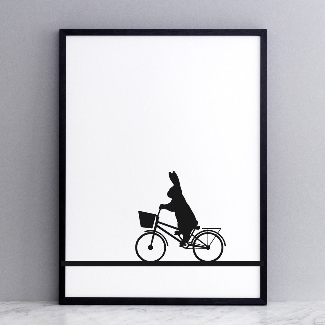 Bunny Print - City Bike