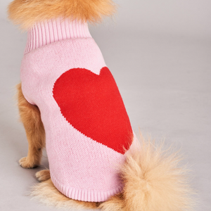 Dog Jumper - Love Heart