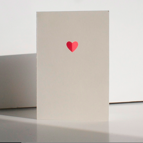 Cut & Make Heart Card