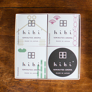 HIBI Japan Incense Sticks Gift Box