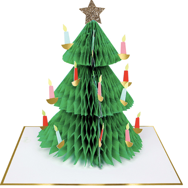Christmas Tree Honeycomb Card - coming soon!