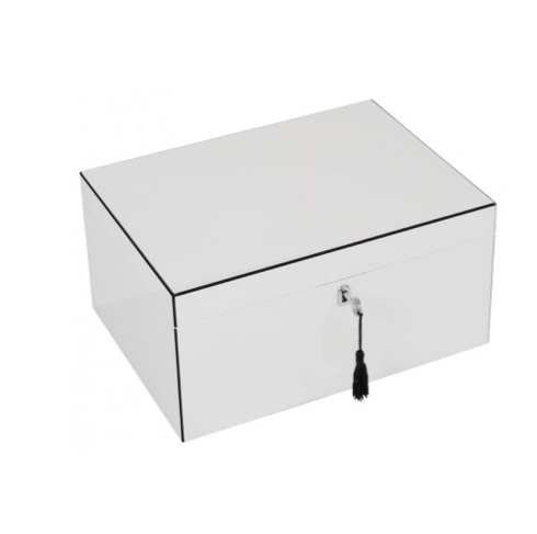 Højglans smykkeskrin stor / High Gloss Jewellery Box large