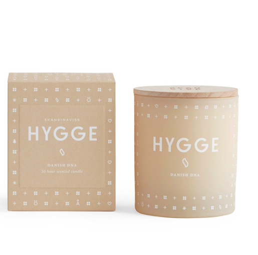 Skandinavisk HYGGE duftlys / HYGGE scented candle