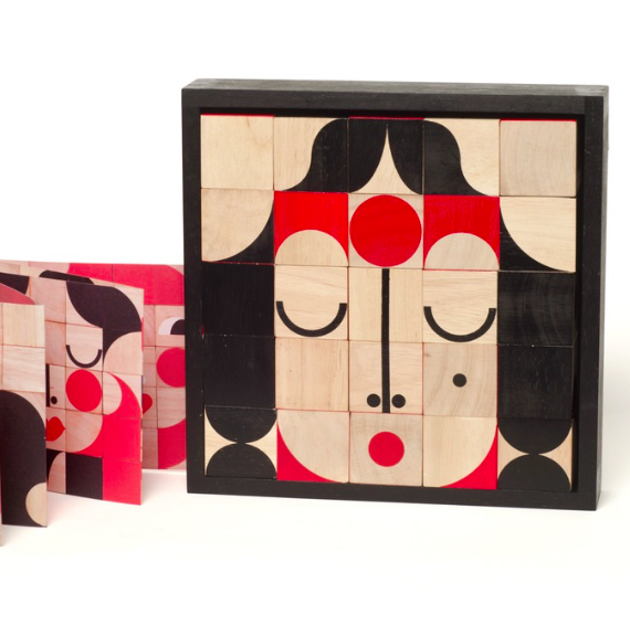 Miller Goodman Facemaker DELUXE træklodser / wooden blocks