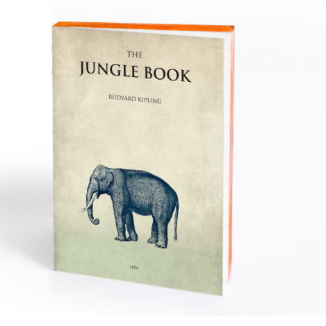 Slow Design Libri Muti - The Jungle Book - sold out/udsolgt