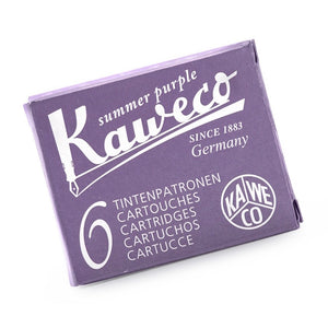 Kaweco Ink Cartridges 6 Pack - Summer Purple