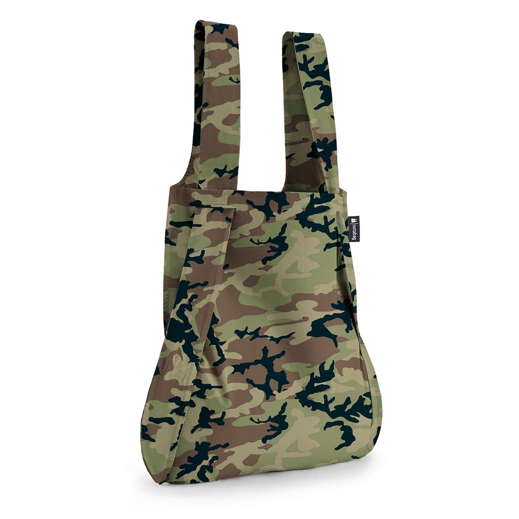 Notabag - Bag and Backpack -  Camouflage