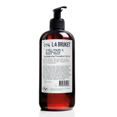 L:A Bruket Liquid Soap 450 ml - 74 Cucmber/Mint