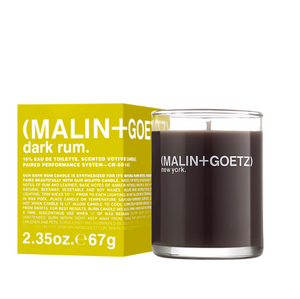 Malin+Goetz Dark Rum Mini duftlys / scented candle