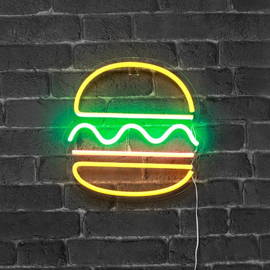 Neon Sign Burger