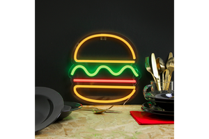 Neon Sign Burger - pt udsolgt/sold out